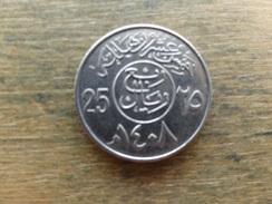 Arabie Saoudite  25  Halala  1408  Km 63 - Arabie Saoudite