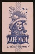 Buvard  -  CAFE NADI - Arome Exquis - Café & Thé