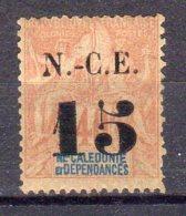 Nouvelle Calédonie N° 57 Neuf Avec Charnière * Dents Courtes - Nouvelle-Calédonie