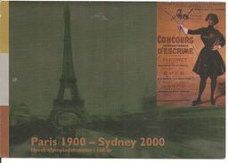 2000 Centenaire Des Jeux Olympiques De Paris 1900; Entier Postal De Norvège. - Summer 1900: Paris