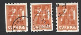 Schweden, 1967, Michel-Nr. 573 C+D, Gestempelt - Sweden