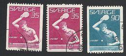 Schweden, 1967, Michel-Nr. 578-579 C+D, Gestempelt - Sweden