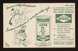 Buvard  -  CAFE Moulu COSTA BRASIL - Café & Thé
