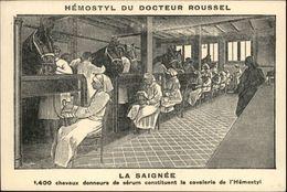 SANTE - Petite Carte Hemostyl - La Saignée - Publicités