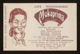 Buvard  -  CAFE MOKAPRIMA - Café & Thé