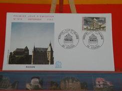 Coté 1,80€ - Tour Romane De Redon - 7.3.1987 - 35 Redon - FDC 1er Jour - 1980-1989