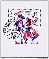 Mi.Nr.279 (Block8) SLOWAKEI Folklore-Festival, Vy´chodna  USED/O/GESTEMPELT - Used Stamps