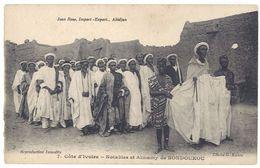 Cpa Côte D'Ivoire - Notables Et Almamy De Bondoukou - Côte-d'Ivoire