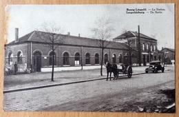 Bourg-Leopold  -  La Station  Leopoldsburg - De Statie (station - Gare - Bahnhof) Schaerbeek - Leopoldsburg