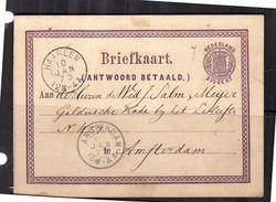 Wapen Geuz. # Nr.2 1873  (BX6) - Ganzsachen