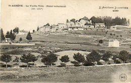 CPA - SAINT-AGREVE (07) - Aspect Du Point Culminant De La Vieille Ville En 1922 - Saint Agrève