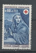 FRANCE -  CROIX ROUGE - N° Yvert 1620 Oblitéré - France
