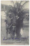Cpa Dahomey - Cotonou - Types De Dahoméens - Dahomey