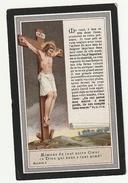Décès Jean Baptiste DECOTTIGNIES époux Marie-Louise Bonduelle Comines Belgique 1853 - 1909 - Devotion Images