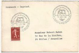 HOLANDA AMSTERDAM 1939 STEDELIJK MUSEUM - Periodo 1891 – 1948 (Wilhelmina)
