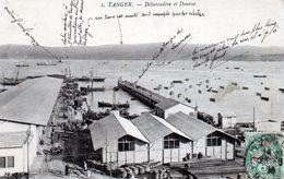 Maroc, Tanger, Debarcadere Et Douane - Tanger