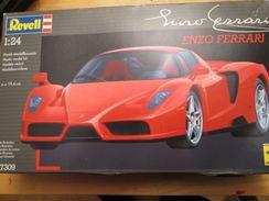 """Kit314 Maquette Plastique à Monter - échelle 1/24e - REVELL FERRARI """"Enzo Ferrari""""   , Complète , Avec Décals Et Notice - Voitures"""