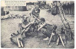 Cpa Dahomey - Paien Donnant L'absolution à Un Coupable Qui Offre Une Chèvre En Sacrifice - Cartes Postales