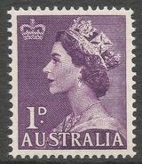 Australia. 1953-6 QEII Definitives. 1d MNH SG 261 - 1952-65 Elizabeth II : Pre-Decimals