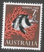 Australia. 1966-73 QEII Definitives. 7c MH SG 388 - 1966-79 Elizabeth II