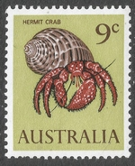 Australia. 1966-73 QEII Definitives. 9c MNH SG 390 - 1966-79 Elizabeth II