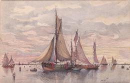 Sailing Ship, Bateau , Fishermans - Mosinger Serie 131A - Sailing Vessels