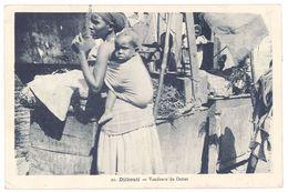 Cpa Djibouti - Vendeurs De Dattes - Djibouti