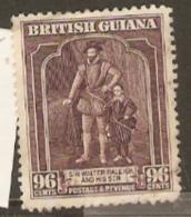 British Guiana 1936 316a 96c  Perf 12,1/2  Fine Used - British Guiana (...-1966)
