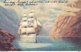 Sailing Ship, Bateau ,serie 207 , 1905 - Sailing Vessels