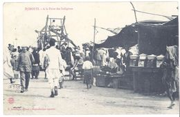 Cpa Djibouti - A La Foire Des Indigènes - Djibouti