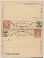 Mexico - 2+2 Cents Postal Card - Unused - Mexico