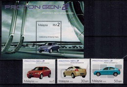 MVU-20072017-0010 MINT ¤ MALAYSIA 2005 KOMPL. SET ¤ AUTO'S - CARS - Voitures