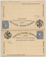Mexico - 5+5 Cents Postal Card - Unused - Mexico