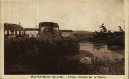 CPA   (54)    MARAINVILLER  -  L'Usine Electrique Sur La Vezouse - Other Municipalities