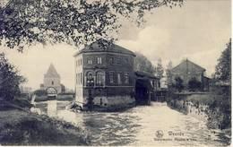 Weerde Zemst Watermolen 1909 Authentieke Kaart - Zemst