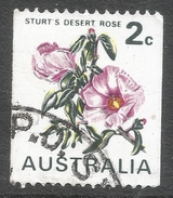 Australia. 1970-75 Coil Stamps. Flowers. 2c Used SG 465a - 1966-79 Elizabeth II