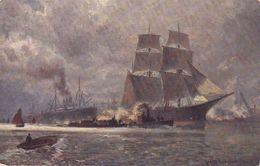 Sailing Ship, Bateau, Georg M.Meinzolt Serie 898 - Sailing Vessels