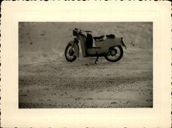 MOTO - Photo - Mobylette - Scooter MOTO GUZZI Type GALETTO 125cc - Autres