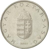 Hongrie, 10 Forint, 2007, Budapest, TTB+, Copper-nickel, KM:695 - Hongrie