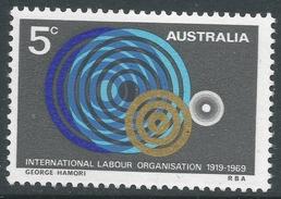 Australia. 1969 50th Anniv. Of International Labour Organsisation (ILO). 5c MH. SG 439 - 1966-79 Elizabeth II