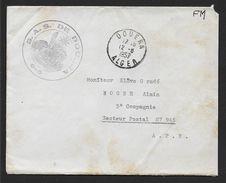 Guerre D' Algérie - Cachet  S.A.S. DE  DOUERA - Postmark Collection (Covers)