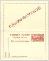 Mexico - 20 Cents Letter Card - Servicio Aero - Unused - Mexico