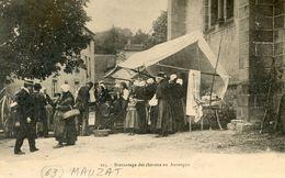 63   MANZAT  BROCANTAGE DES CHEVEUX EN AUVERGNE - Manzat