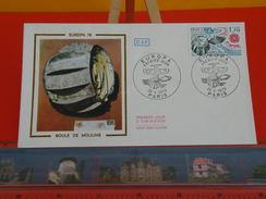Coté 1,10€ - Europa CEPT, Bray Sur Seine, Boule De Moulins - 28.4.1979 - Paris - FDC 1er Jour - 1970-1979