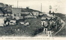 63    SA MAJESTE LEOPOLD II EXCURSIONNANT AU SOMMET  DU PUY DE DOME - Unclassified