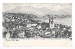 LUZERN Mit Rigi  -  - Suisse -  - L 1 - LU Lucerne