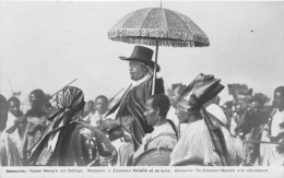 ETHIOPIE - Royauté / Type Carte Photo - Empereur Ménélik - Ethiopie