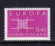 Europa Cept 1963 Finland 1v ** Mnh (CO326) - Europa-CEPT