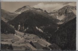 Monstein Bei Davos Gegen Krachenhorn Und Gipshorn - Photo: Otto Furter - GR Graubünden