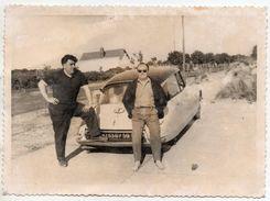 Photo Ancienne - Une CITROEN DS - Immatriculée Dans Le Département Du Nord - Automobiles